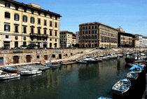 Livorno, Italy by Philip Shone