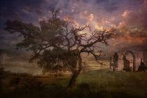 Der alte Baum. Frei nach Caspar David Friedrich by Marie Luise Strohmenger
