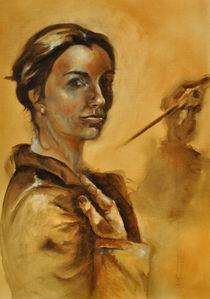 Die Malerin by Rosel Marci