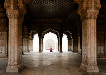 The Red Fort, New Delhi. von Tom Hanslien