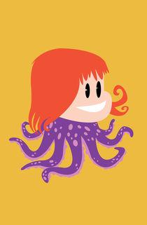 Octopus Girl von mdavidct