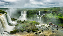 Iguazu-falls-tilt-shift-effect