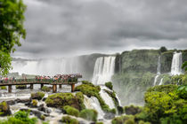 Over the Salto Santa Maria, Iguazu Falls von Russell Bevan Photography