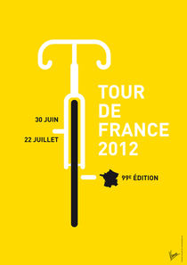 MY TOUR DE FRANCE MINIMAL POSTER - 2012 by chungkong