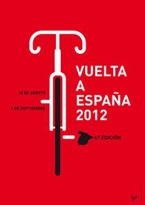 MY VUELTA A ESPANA MINIMAL POSTER - 2012 von chungkong
