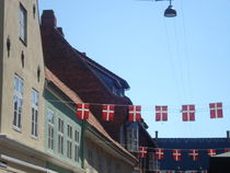 Danish flags von Sergio Cabrera