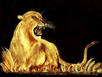Golden Cat von dawn Davies