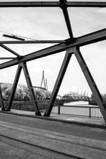 Brücken im Hafen - Harbour Bridges von kunertus