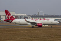 Virgin America Airbus A320 Sharklets by kunertus