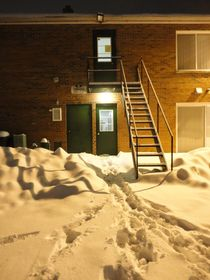Urban Blanket Of Snow by Guy  Ricketts