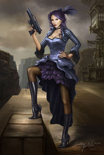 Steampunk Pirate Lady von Jack Moik