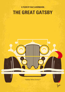 No206 My The Great Gatsby minimal movie poster von chungkong