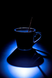 Blaue Tasse von Detlef Koethner