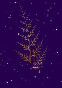 Goldener Farn by Frank Siegling