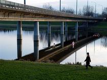 Bridge over Smoothed Water | Brücke über beruhigtes Wasser | Puente sobre aguas tranquilas von artistdesign