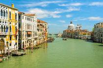 Grand Canal in Venice, Italy von Michael Abid