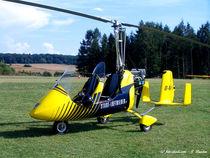 Gyrocopter, Flugschrauber, Luftfahrt von shark24