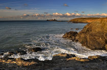 Distant Godrevy Lighthouse by Sugar and Spice Photography Cornwall