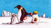 Maulwurf Pinguin von Stephan Jupp Kolmer