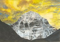 Mount Kailash at Dawn von Bhagvati Nath