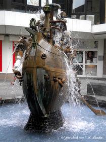 dekorativer Brunnen in Koblenz von shark24