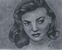 Lauren Bacall von Bobby Dar