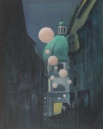 Nocturne - Light on Earth, Vienna Version von Karl Seitinger