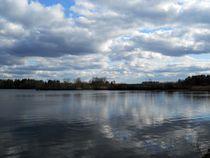 lake in early spring von Wolfgang Schweizer