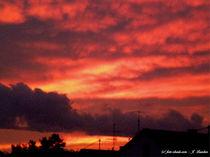Sonnenuntergang, Abendrot, beruhigende Stimmung von shark24