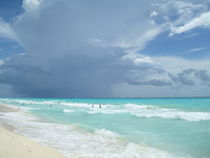 Blue Water,Riviera Maya-Mexico by Tricia Rabanal