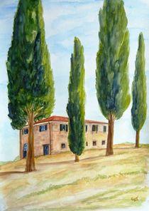 Landhaus in der Toskana von Christine Huwer