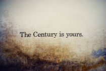 The Century is Yours. von Riccardo Conti