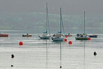 Boats On Carsington Water von Rod Johnson