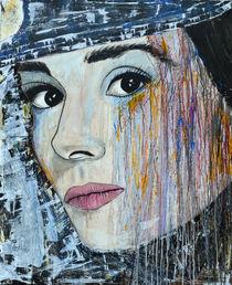 Audrey Hepburn-Portrait von Ismeta  Gruenwald