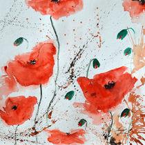 Rote Mohnblumen  von Ismeta  Gruenwald