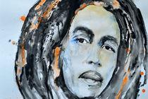 Bob Marley by Ismeta  Gruenwald