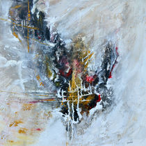 Kraftvoll - abstrakt by Ismeta  Gruenwald