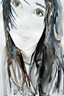 Junges Mädchen by Ismeta  Gruenwald