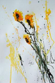 Sonnenkinder- Sonnenblumen  von Ismeta  Gruenwald