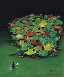 Die Angst des Dirigenten vor dem Orchester - The Conductor's Fear of the Orchestra von Stefan Kahlhammer