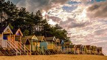 Beach Huts by Adam Payne