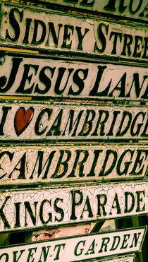 Cambridge Street Signs by Adam Payne