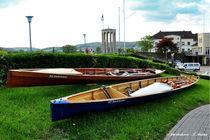 Ruderboote in Neuwied, Wassersport, Boot, von shark24