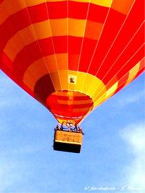 Heißluftballon, Ballonfahrer, Luftfahrt von shark24