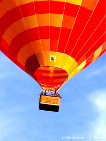 Heißluftballon, Ballonfahrer, Luftfahrt by shark24