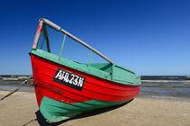 Ostsee, Fischerboot von Alexander Borais