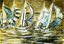 Segelschiffe von Irina Usova