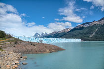 Glacier Perito Moreno (right hand side) by Steffen Klemz