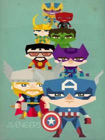 avengers fan art 2 by daniel torres