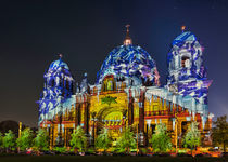Berliner Dom im Weihnachtslook von Steffen Klemz